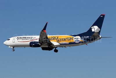"""AM's """"Coruna Music - Musica Sin Fronteras"""" logo jet"""