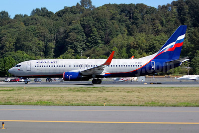 Aeroflot Russian Airlines Boeing 737-8LJ WL VP-BRF (msn 41195) BFI (Joe G. Walker). Image: 913627.