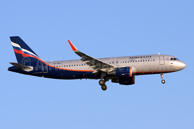 Aeroflot Russian Airlines Airbus A320-214 WL VQ-BRW (msn 5974) (Sharklets) SVO (OSDU). Image: 922284.