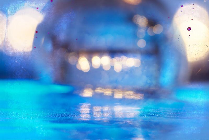 """""""Deep Blue Orb"""" full image."""