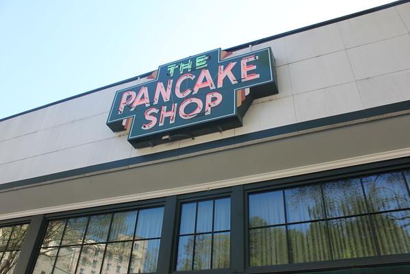 the pancake shop