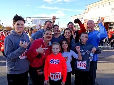 Hot to Trot 5K Run, Knoxville TN November 26, 2015
