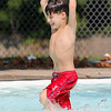 Sebastian Maskewich , 6, of Fitchburg enjoys himself at the J. Robert Crowley Swimming Complex at Coolidge Park on Thursday as her tries to stay cool in the 90+ heat. SENTINEL & ENTERPISE/JOHN LOVE