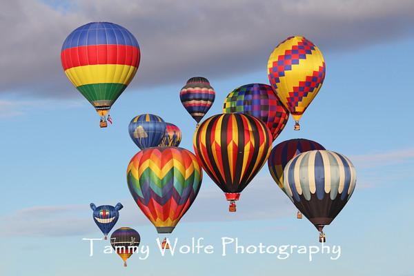 Hot Air Balloon Festivals and Air Shows