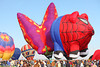 Albuquerque International Balloon Fiesta 2012, Spider Pig and Butterfly