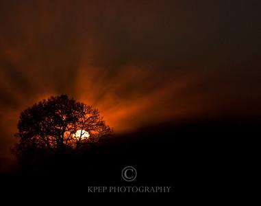 Morning Rays in Cambridge, Ontario