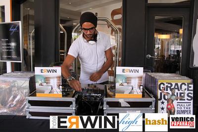 Hotel Erwin's resident DJ.