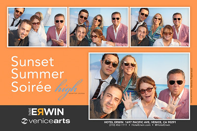 Venice Arts' Summer Soirée at High Rooftop Lounge.  HotelErwin.com.  Photo by Venice Paparazzi