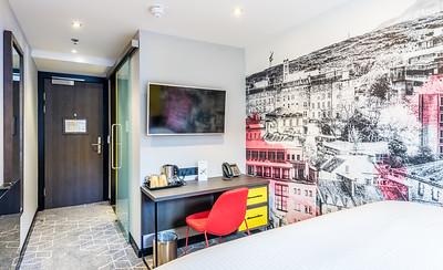 KM Central Hotel, Edinburgh - interior photography
