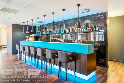 Motel One photograph of bar, Edinburgh