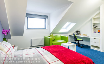 Student accommodation photography