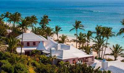 The Cottages over looking the Beach at Coral Beach and Tennis Club, BERMUDA