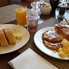 lounge breakfast at Old Town Hilton