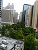 view from my 8th floor room