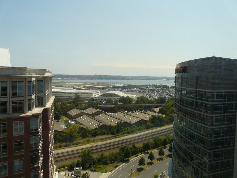 Aug 2013 17th floor executive king view towards airport and Potomac
