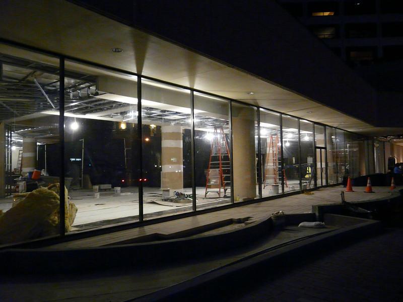 ground floor remodel underway August, 2010