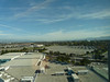 view towards downtown San Jose from 14th floor elevator hallway