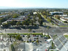 view from my room towards front lot and Great America Parkway