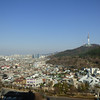 view from hotel to Seoul Tower