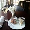 roast been and cheese plus Reisling Brut in Regency Club