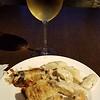 Grand Hyatt lounge - eggplant, gnocchi, shrimp dumplings