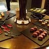 Grand Hyatt lounge dessert table