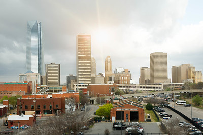 Downtown OKC View