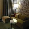 upgraded to 3rd floor suite