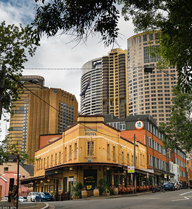 Australia Hotel, The Rocks district, Sydney
