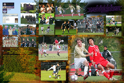Houghton College Men's Soccer 2009 Senior Posters