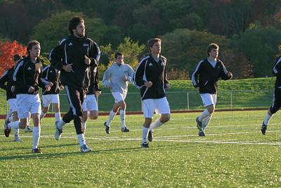 Houghton College Men's Soccer (1) v. Cedarville U (1) 2OT