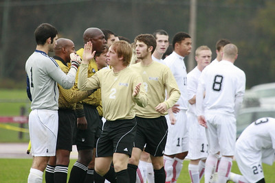 Houghton College Men's Soccer (3) v. #2 Rio Grande U (3) 2OT