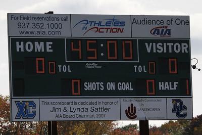 Houghton College Women's Soccer (1) v. Cedarville U (0)
