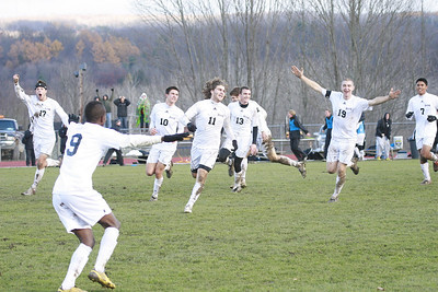 Houghton College Men's Soccer (2) v. Mt. Vernon Nazarene University (1) AMC Semi-final