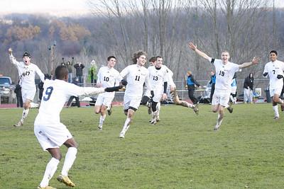 Houghton College Men's Soccer (2) v. Mt. Vernon Nazarene University (1) AMC Semi-final