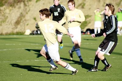 Houghton College Men's Soccer (2) v Roberts (3) AMC Semi-Final