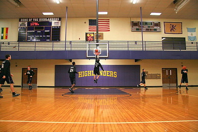 Houghton College Mens Basketball 2009 V Malone College