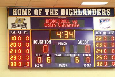 Houghton College Womens Basketball 2009 V Walsh University