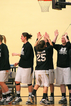 Houghton College Womens Basketball 2009 V Malone College