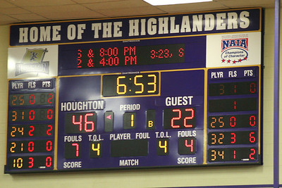 Houghton College Women's Basketball v SUNY Canton