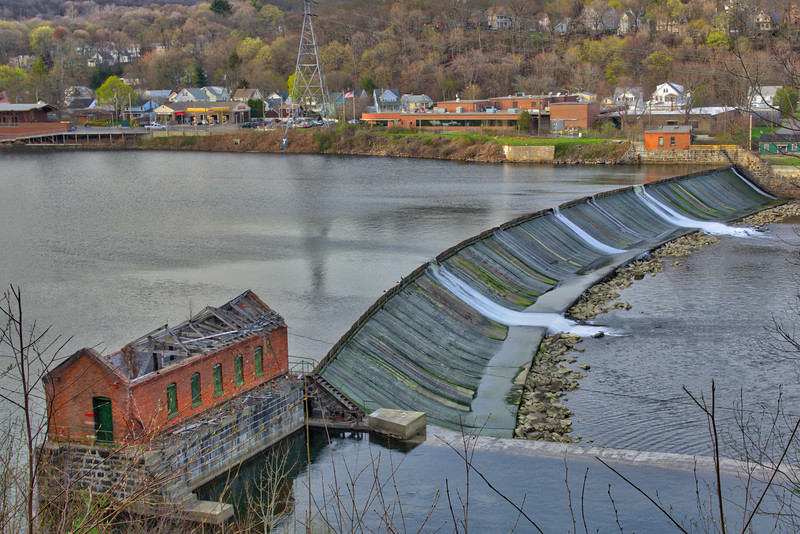 Housatonic River and Dam