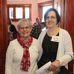 Margaret Gurucharlli and Judy Noble.