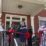 Hildegard House Executive Director Karen Cassidy.