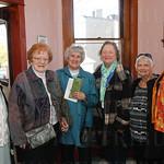 Sister Julia Davis, OSU., Sister Miriam Frenke, SCN., Jeanne Denny, Dianne Scheer, Bobbie Moore and Harriet Mays.