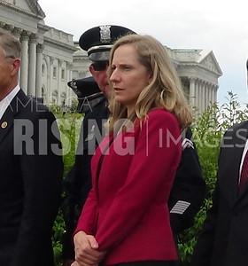 Abigail Spanberger at TAPS Act Presser in Washington, DC