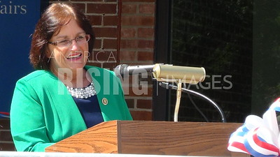 Ann McLane Kuster At VA Clinic Grand Opening In Littleton, NH