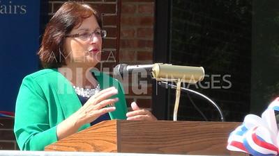 Ann McLane Kuster At VA Clinic Grand Opening In Littleton, NH