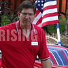 Brad Schneider At Fourth Of July Parade In Vernon Hills, IL