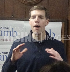 Conor Lamb At Office Opening In Greensburg, PA