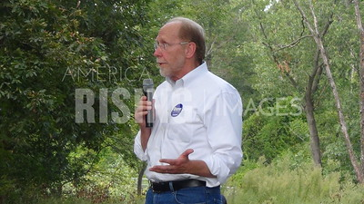 Dave Loebsack At Labor Day Picnic In Burlington, IA